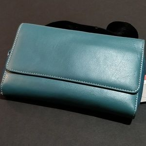 Croft & Barrow Teal Wallet Clutch